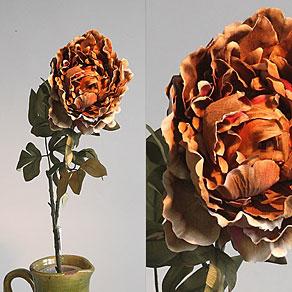 Květiny textilní