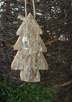 dekorace závěsná - stromeček - jasan | A00740