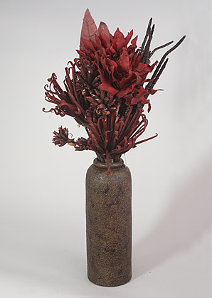 aranžmá - umělé květy, váza   A01255_B