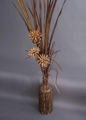 aranžmá trvalé hodnoty (umělé květy+ váza)   A01295_A