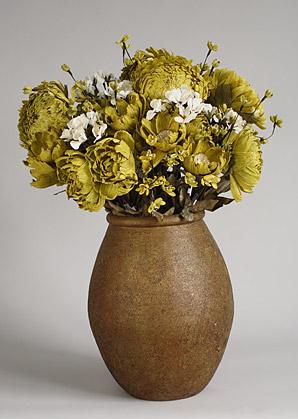 aranžmá - umělé květy, váza   A01305_A