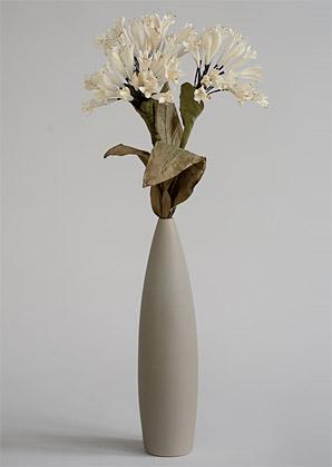 aranžmá trvalé hodnoty (celulozové květy+váza)   A02245_A