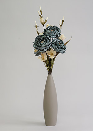 aranžmá trvalé hodnoty (celulozové květy+váza)   A02255_A