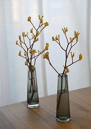 aranžmá - živé květy, váza sklo | A02446_A