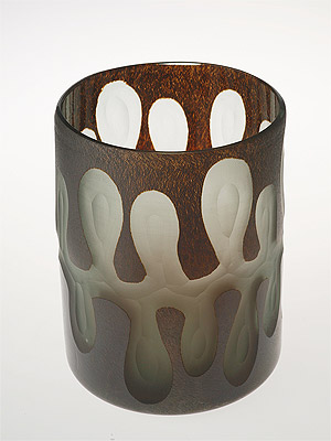 váza - design sklo | A02450
