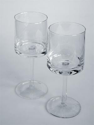 sklenice na víno 0,25 L - čiré sklo | A02640