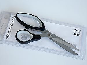 nůžky nerez - 21 cm - titanový povrch   A03540