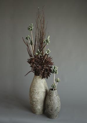 aranžmá trvalé hodnoty (umělé květy+ váza)   A03836_A