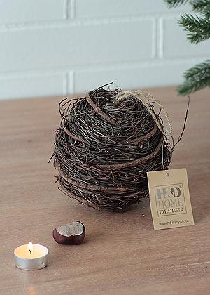 koule dekorační - přírodní materiál | A05210