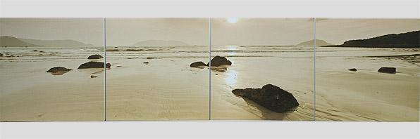 obraz 4 ks 40x40cm - laminované plátno | A07054