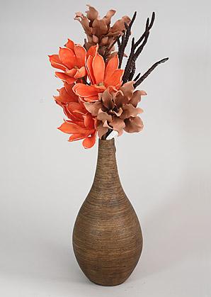aranžmá - umělé květy, váza   A07346_B