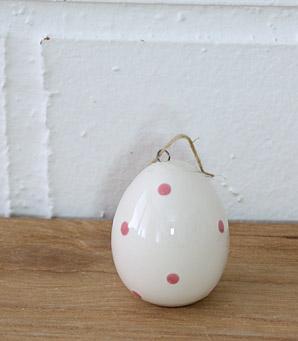 dekorace - závěsné vajíčko - keramika | A07390