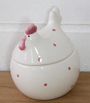 dekorace - dóza - keramika | A07400