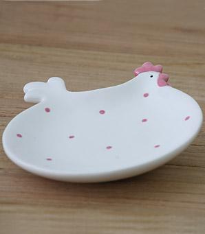 dekorace - talířek - keramika | A07420