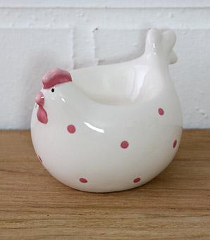 dekorace - dóza na vajíčko - keramika | A07430