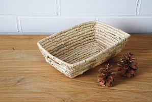 košík - palmové listí | A07900_BE1
