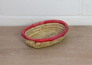 košík - palmové listí | A07911_PCV