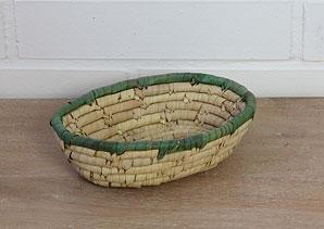 košík - palmové listí | A07912_PZE