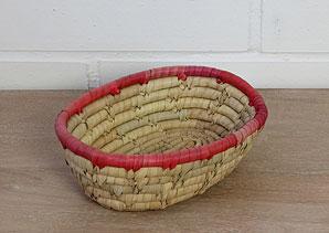 košík - palmové listí | A07913_PCV