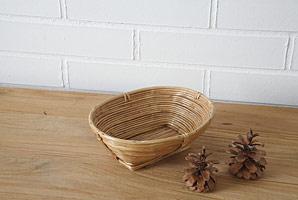 košík oválný - bambusové stéblo | A07971_BI1