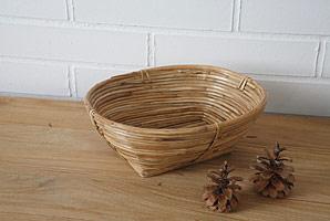 košík oválný - bambusové stéblo | A07972_BI1