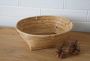 košík oválný - bambusové stéblo | A07973_BI1