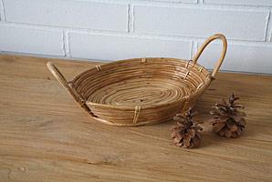 košík oválný - bambusové stéblo | A07981_BE2