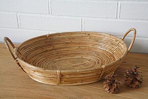 košík oválný - bambusové stéblo | A07983_BE2