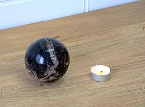 koule - zkamenělé dřevo | A08090