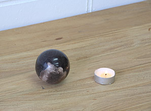 koule - zkamenělé dřevo | A08091