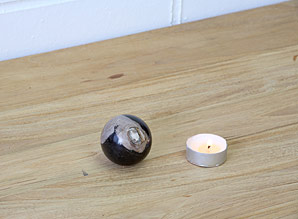 koule - zkamenělé dřevo | A08092