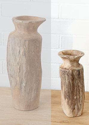 váza - kořenové dřevo - teak | A08261_HN2