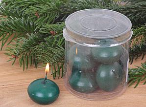 svíčky plovoucí - sada 8 ks | A08501_ZE3