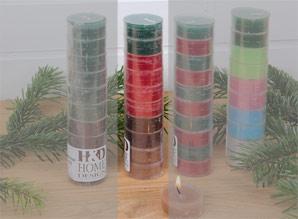 svíčky čajové - sada 10 ks | A08550_VBE