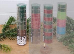 svíčky čajové - sada 10 ks | A08550_VZE