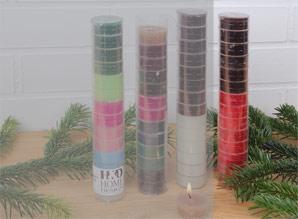 svíčky čajové - sada 14 ks | A08551_VCV