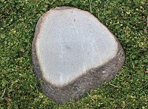 kámen nášlapný - zahradní dekorace - říční kámen | A08600_SE1