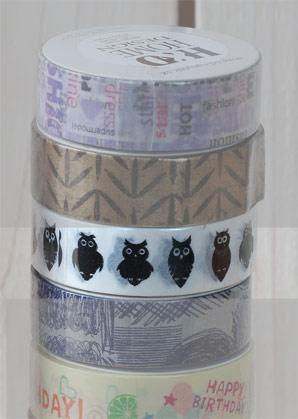 páska lepící - sovičky - 1,50 x 1000 cm   A09000_VBI
