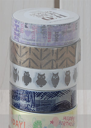 páska lepící - čáry máry - 1,50 x 1000 cm   A09000_VNA