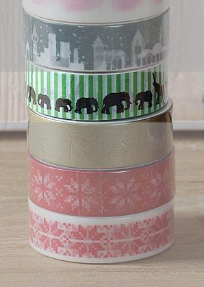 páska lepící - sloni - 1,50 x 1000 cm   A09000_VZE