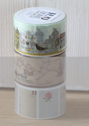 páska lepící - město - 3 x 1000 cm   A09001_VZL