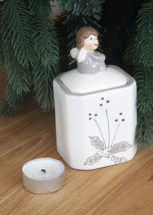 dekorace - dóza - keramika | A09030_VBI