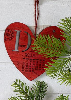 dekorace - srdce závěsné s popisem  | A09400_CV2