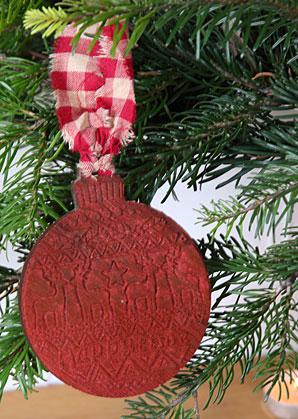dekorace - baňka vánoční motiv | A09420_CV2