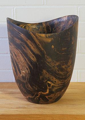 váza - mango dřevo   A09642_VHN