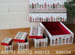 dárková krabička střední A09752 | A09752_VZE