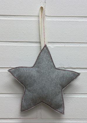 hvězdička textilní | A09801_SE1