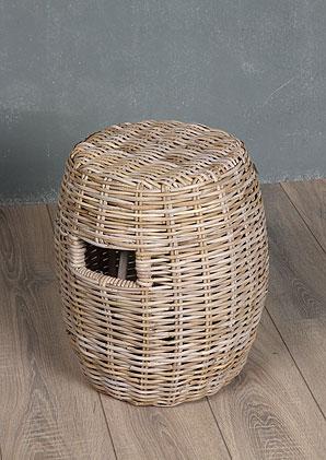 taburet - ratan kubu | A13150_BE2