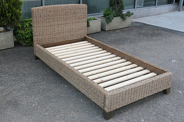 postel s roštem - ratan - slimit | A50091_SE2