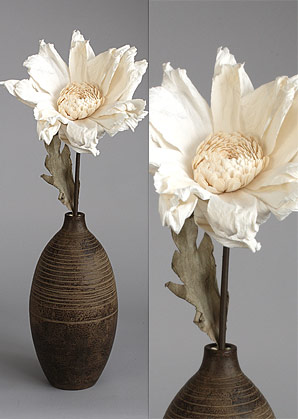dekorace - celulozové květiny | A70370_BE1